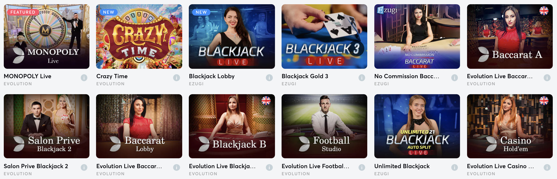 All Live Games
